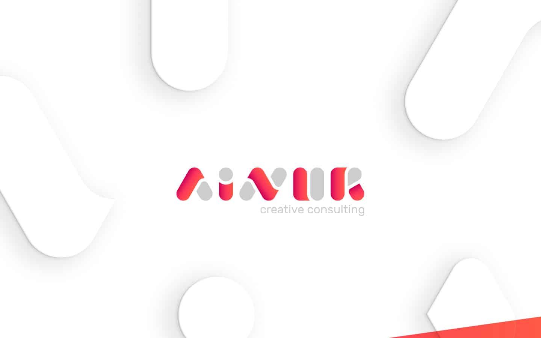 Brand identity per Ainur, agenzia digital e consulenza con sede a Milano